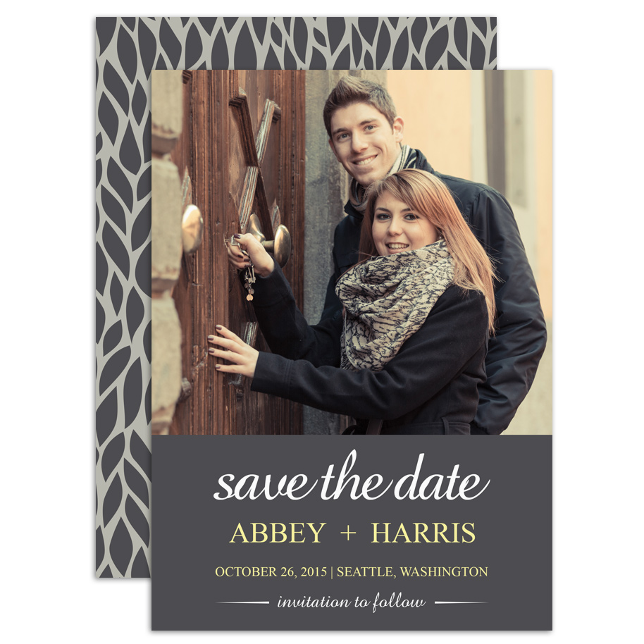 HP Wedding 017 Save the Date