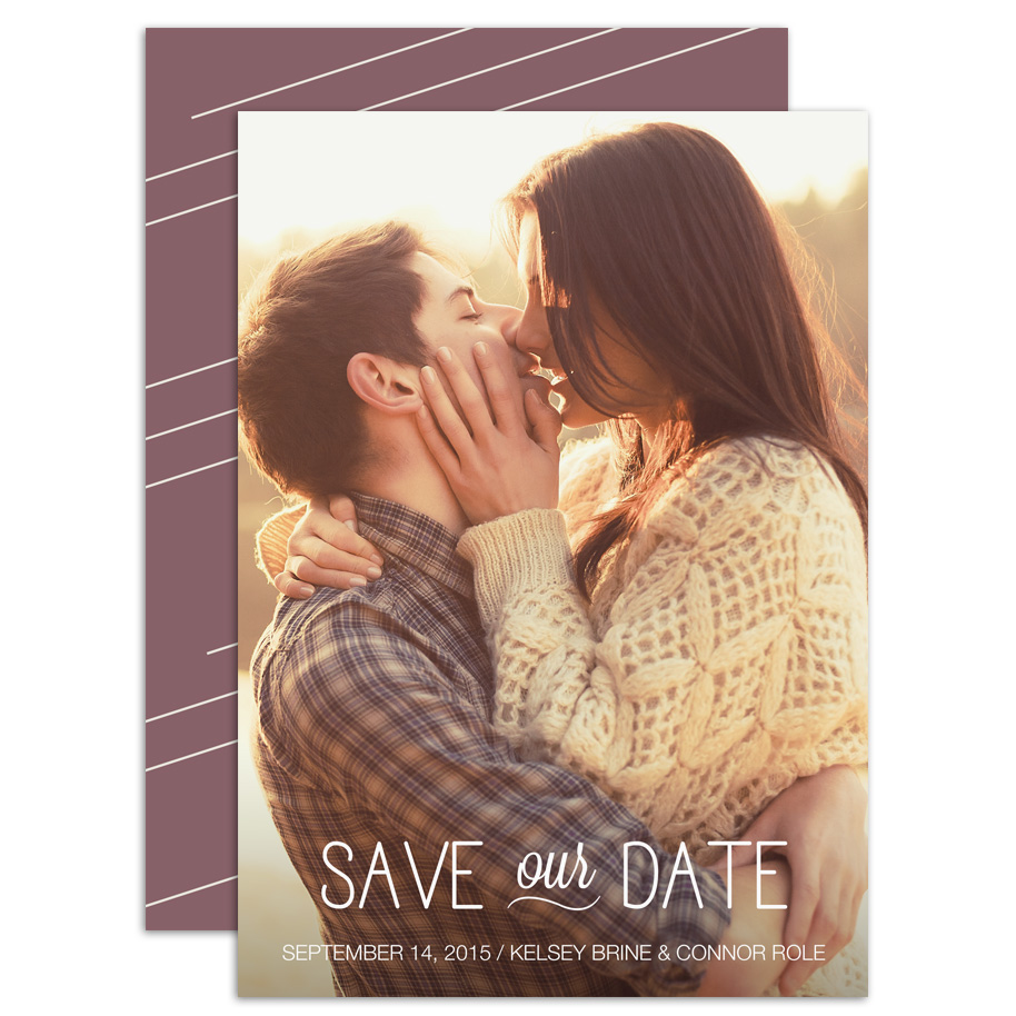 HP Wedding 012 Save the Date