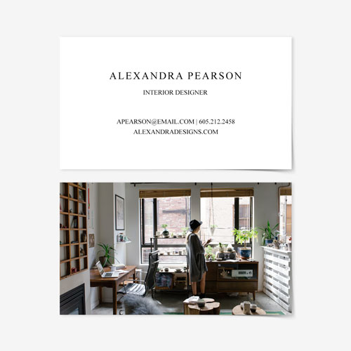 Business Card | Front Text