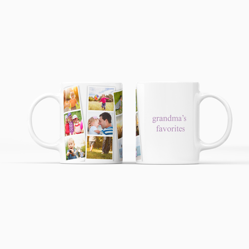 Ceramic Mug | Photo Strips
