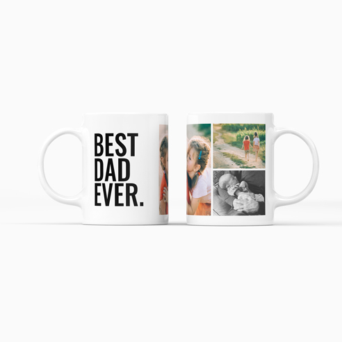 Ceramic Mug | Best Dad Collage