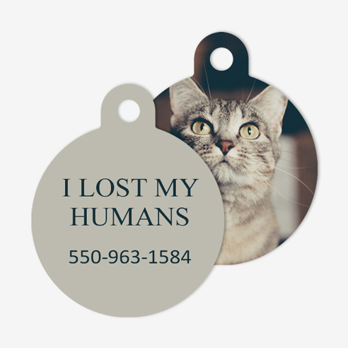 Pet Tag | Circle Image