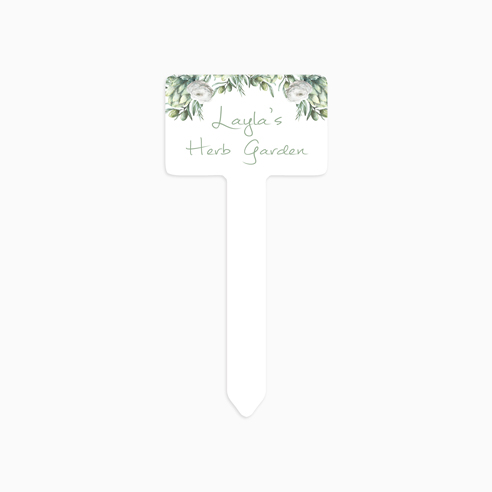 Sm Garden Stake - Rectangle