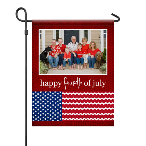 Yard Flag | 1-Sided Patriotic